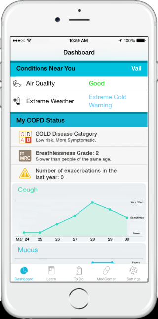 LifeMap Solutions and Mount Sinai – National Jewish Health Respiratory Institute Launch COPD Navigator App Pilot Program