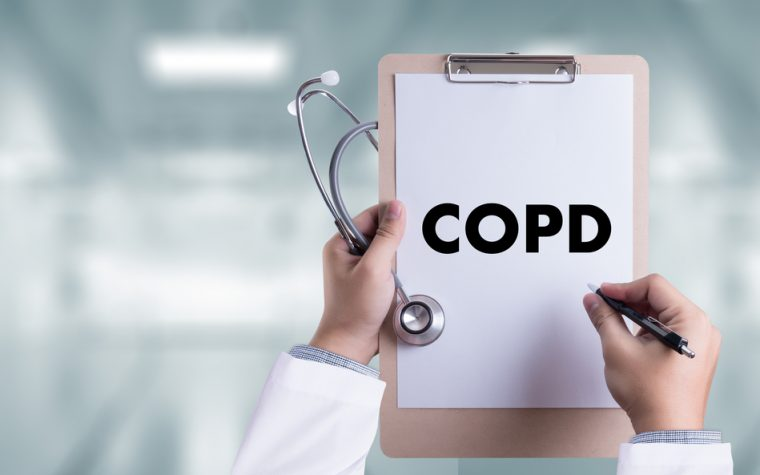 Remote monitoring of COPD